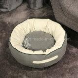 Do sofá luxuoso do animal de estimação dos produtos do animal de estimação base luxuosa para a base morna redonda do gato da filhós do animal de estimação