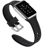 Wristband del silicón para la correa de reloj de Apple, nueva correa del reemplazo del estilo para Iwatch