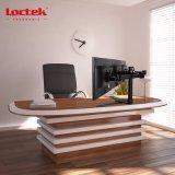 Loctek Dlb123 полностью регулируемые тройной монитором настольная подставка