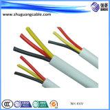 Cabo de alimentação de Mineração de kv 0.6/1com bainha de PVC/isolamento XLPE/fios de aço fina Armor