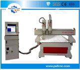 木製の印の作成のための2つのスピンドルCNCの彫版のルーター機械