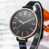 quartz Wist Watch 의 숙녀 시계 (WY-17026D) OEM 메시 합금 결박 숙녀