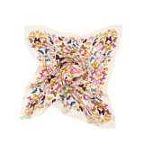 Neueste Art-Form-Silk Schal mit Troddel-Sprung