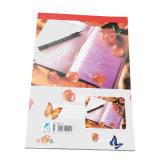 Portátiles baratos cuatro colores de impresión personalizada impresión de libros de ejercicios