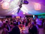 Weißer Belüftung-Aluminiumrahmen-wasserdichtes Hochzeits-Festzelt-Zelt für Ereignis