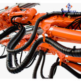 Protetor hidráulico da mangueira do envoltório da espiral dos PP