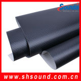 Bolla libera della pellicola di Vinylair della fibra del carbonio di prezzi di fabbrica 3D con il migliore prezzo