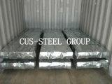 ソマリアジブチ亜鉛上塗を施してあるクラッディングのプロフィールか鋼鉄鉄の屋根ふきシート