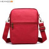 소년 소녀를 위한 파랗고/빨강 보통 주문 폴리에스테 어깨에 매는 가방