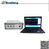 Analisi di risposta di frequenza stabilita di spazzata del trasformatore della prova del movimento di bobina del Fra