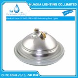 18W 24W 35W verre épais PAR56 Piscine subaquatique de lumière à LED