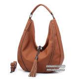 2017 neue Beutel-grosse Größen-Frauen-Handtaschen-Dame-Einkaufen-Beutel der Art-Dame-Schulter mit Troddel Sh226