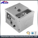 Motor de perfuração de alta precisão da liga de alumínio usinado Fresar peças CNC
