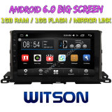 "Witson 10.2 "" Toyota Highlander 2015년을%s Big Screen Android 6.0 Car DVD"