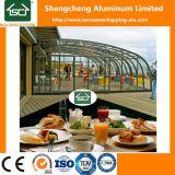 De openluchtTerrassen van het Polycarbonaat en van het Aluminium van Prefabbricated/Glas Sunrooms
