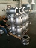 鋳造の鋳物場の供給の高品質CF8の大きい投資によって失われるワックスの鋳造のバルブ本体