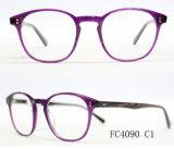 Frame ótico de quatro Eyeglasses europeus do estilo do acetato da cor