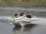 Liya 14pieds nervure fabricant de bateaux gonflables bateau RIB