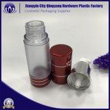 Cosméticos de color rojo claro PMMA 15ml 30ml 50ml botella Airless de plástico