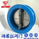 Pn16 / Pn40 Chapa dupla de aço fundido da válvula de retenção de wafers