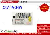 Alimentazione elettrica di commutazione del driver 24V 1A 24W del LED riservata alla stampante