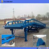 Depósito de contenedores de carga de la rampa, la palanca de base para la venta