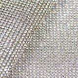 Кристаллический ткань вышивки очень яркая