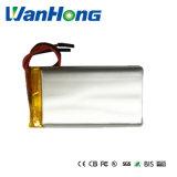 653460pl 3200mAh bateria de polímero de lítio 3.7V para Produto Digital