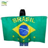 Bandierine poco costose del corpo di Portugual del ventilatore di calcio della tazza di mondo del poliestere