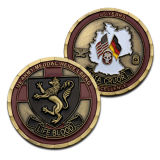 卸し売り記念品によってカスタマイズされるロゴの安く軍隊は硬貨に挑戦する