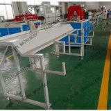 機械を作るWhilte PSの幅木のプロフィール装置