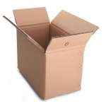 Profissional por atacado caixa ondulada personalizada da caixa