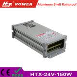 24V 6A 150W LEDの変圧器AC/DCの切換えの電源Htx