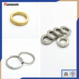 Части латунного стального алюминиевого кольца металла CNC поворачивая запасные