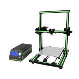 大きい印刷のサイズ8.7*10.6*11.8inchesの部分的にアセンブルされたMulti-Languageソフトウェアのアルミ合金フレームが付いているアネットE10 DIY 3Dプリンター