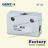 Хорошее Quanlity Pneumatuc Yt-400s определяет действующий фиксирует вверх закрывая клапан