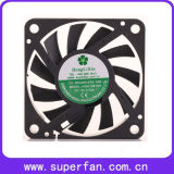 ventilator van de Ventilatie van de Bladen gelijkstroom van 60*60*10mm de Plastic As