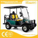 4 Seaterの後方のシートが付いている電気ゴルフカート