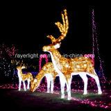 クリスマスの休日の装飾LEDのモチーフライトスノーマンの屋外の装飾