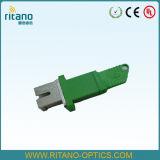 Adaptateurs de fibre optique de la Sc-MU millimètre de corps inférieur en métal