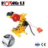 """Petites machines Cuttr Machine de découpe du tuyau hydraulique 750W 2""""-12"""" (QG12C)"""