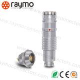 Kompatible Lemo 1K Serie3 Pin-Gegentaktrundsteckverbinder-Kontaktbuchse