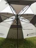Guarda-chuva dobro do golfe do dossel dos presentes Year-End, Windproof
