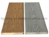 Épreuve recyclable de termite et Decking en plastique en bois du composé WPC d'épreuve moisie