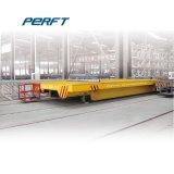 5t поддона электрической обработки тележки работает на магистрали привода вращающейся платформы