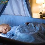 Tampa impermeável da almofada do colchão da ucha do bebê