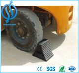 Grande calço da roda de Rubbr do pneu com suporte