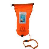 Flotteur de bouée pour le sac sûr de nageur de formation de bain avec le guichet de PVC
