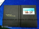 PU книга 7 видео рекламы и рекламные брошюры Business Card