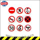 공장 가격 플라스틱 회전 둥근 거리 경고 표시